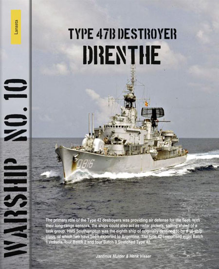 Type 47b destroyer Drenthe