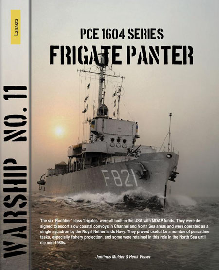 PCE 1604 series, frigate Panter