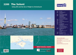 Imray 2200 Solent van Selsey Bill tot Christchurch