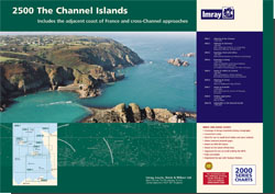 Imray 2500 Channel Islands