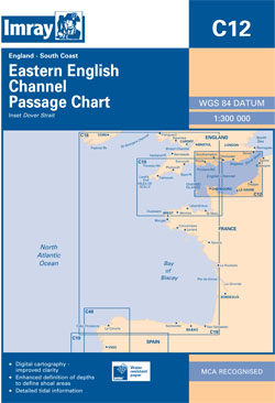 Imray C12 Eastern English Channel Passage Chart