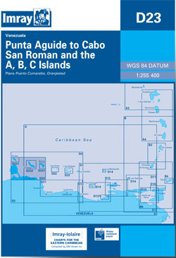 Imray D23 Punta Aguide to Cabo San Roman and the A, B, C Islands